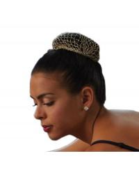 Bunheads metallic haar net