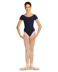 Capezio balletpak princess seam short sleeve