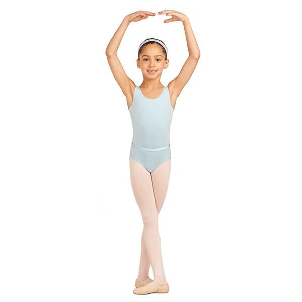 Afbeeldingsresultaat voor balletpak blauw bandjes