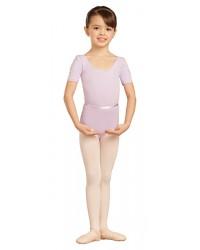 Capezio balletpak short sleeve voor kinderen