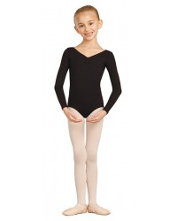 Capezio balletpak long sleeve voor kinderen
